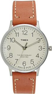Timex THE WATERBURY CLASSIC Ure cream/caramel