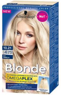 Schwarzkopf Poly Blonde Hårfarve 10.21 Icy Vanilla