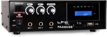 PA-förstärkare LTC PAA60USB USB-MP3 mikrofon 12V