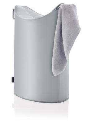 BLOMUS Frisco tvättkorg - Silver/Grå