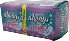 Always Ultra Sanitary Napkin Advantage Pack 26 Pieces