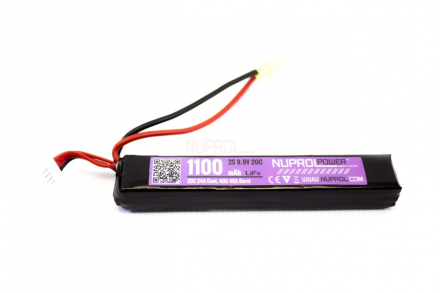 Batteri LI-FE 9.9V - 1100mAh - Slim Stick