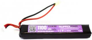 Batteri LI-FE 9.9V - 1100mAh - Slim Stick