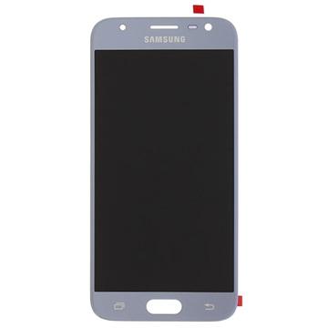 Samsung Galaxy J3 (2017) LCD-Skærm GH96-10992A - Blå