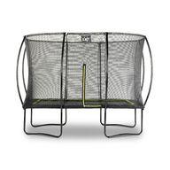 Iso Suorakaide trampoliini Exit Silhouette turvakehällä 305x214 cm