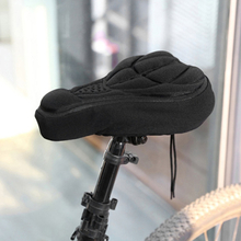 2020 Hot Mountain Bike Cycling Thickened Extra Comfort Ultra Soft Silicone 3D Gel Pad Cushion Cover Bicycle Saddle Seat 4 Colors