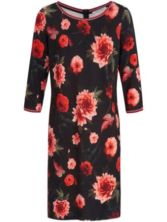 Jerseyklänning 3/4-ärm från Betty Barclay mångfärgad