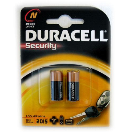 Duracell Security MN9100 Alkaline Batteri - 2 stk.