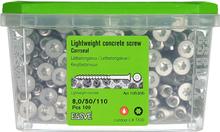 ESSVE CorrSeal TX30 Lättbetongskruv 8,0x110mm, 100-pack