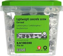 ESSVE CorrSeal TX30 Lättbetongskruv 8,0x240mm, 50-pack