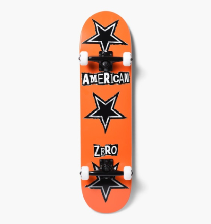 Zero Skateboards - American Zero Ransom 8,0 Complete