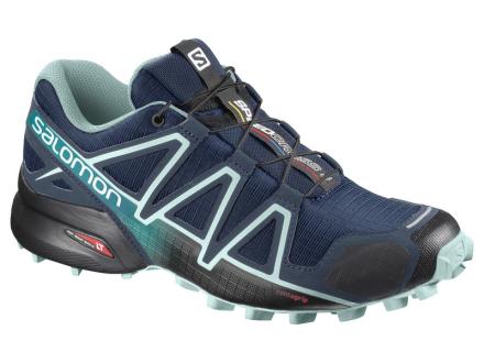 Salomon Speedcross 4 Wide W Poseidon/Eggshell Blue/Black
