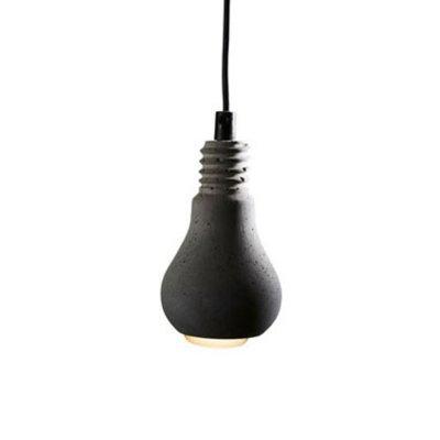 Tove Adman Lampa Edison Betong Grå
