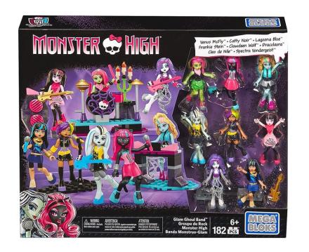 Mega Bloks Monster High Glam Ghoul Band