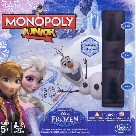 Monopoly junior, Frozen