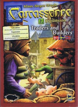 Carcassonne, Traders & Builders, DK