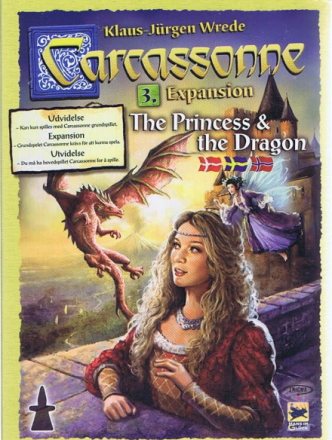 Carcassonne, The Princess & the Dragon (DK)