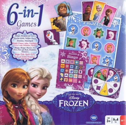 6-in1 games, Frozen