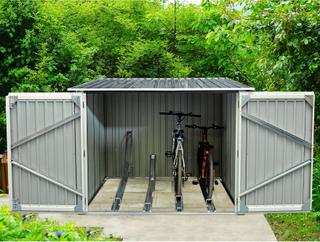 Cykelförråd 4,2m² - 4 cyklar