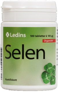 Selen Org 100 mcg 100 tabletter