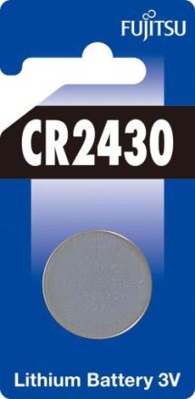 Fujitsu CR2430 Lithium Batteri - 1 stk.