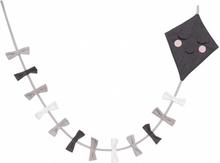 Roommate - Kite Flag Line Grey/Black/White