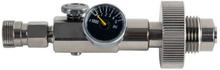 DIN Fyllestasjon - 300 BAR m/manometer