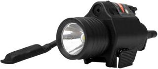 LED Lykt m/laser - 340 lumens Weaver - 21mm