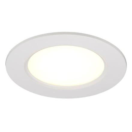 Nordlux Palma 12 Innbygningsspot LED 6W/827, Hvit