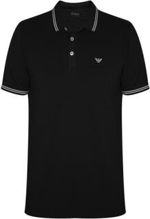 Emporio Armani Emporio Armani Black Polo Shirt svart XX-Large