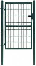2D hageport (enkel) grønn 106 x 170 cm