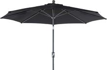 Florens parasoll Svart 2,75 m