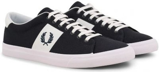 FRED PERRY Underspin Twill Sneaker Navy (40)