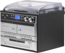 MRD-165 - audio system Pladespiller - Sølv