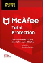 McAfee Total Protection Unlimited 2019 - Ubegrænsede enheder / 2 år