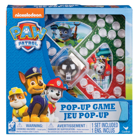 Paw Patrol pop up Ludo game