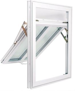 PVC Utadslående glidehengslet vindu