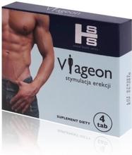 Viageon - Stymulacja Erekcji - Kapsułki 4szt. | 100% DYSKRECJI | BEZPIECZNE ZAKUPY
