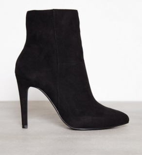 Bianco Classic Stiletto Boot High Heel Svart