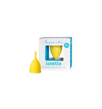 Kubeczek Menstruacyjny Menstrual Cup Yellow - model 1 | 100% DYSKRECJI | BEZPIECZNE ZAKUPY
