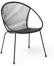 Stol med stålram Vira, 63x83x60 cm