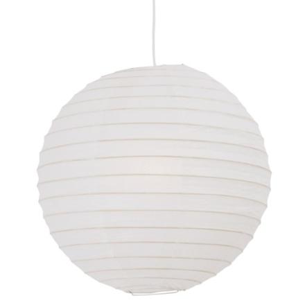 Nordlux Rispapir Lampeskjerm ekskl. oppheng Ø40 cm, Beige