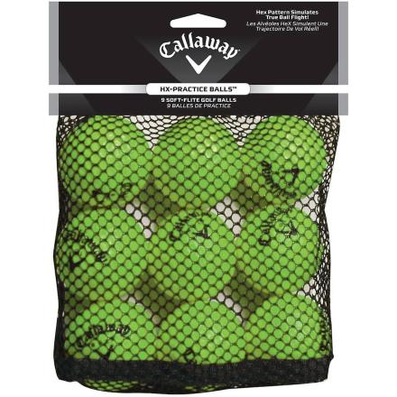 Callaway HX 9 antall praksis golfballer - grønn