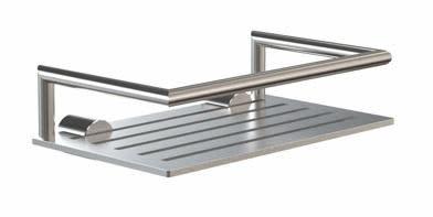 Frost Nova2 Såpe Hylle 200x120 mm, Rustfritt stål