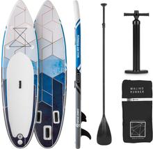 Maliko Runner uppblåsbar paddelboard SUP-board-set grå/vit