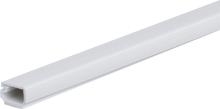 Plasfix 3402 Kabelkanal skruefesting, med lokk, 2 m 16 x 10 mm