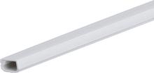 Plasfix 3401 Kabelkanal skruefesting, med lokk, 2 m 12 x 7 mm