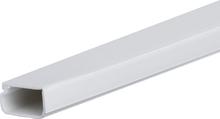 Plasfix 3404 Kabelkanal skruefesting, med lokk, 2 m 30 x 11,5 mm