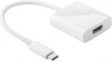 USB 3.1 C - HDMI - White