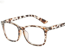Anti blåt lys / Anti Blue Light Briller - Girafmønstret